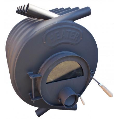 Teplovzdušná kamna na dřevo HEATER - 17 kW, kamna na dřevo