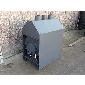 Špeciálna teplovzdušná pec sa špeciálnym lapačom tepla a usmernením tepla